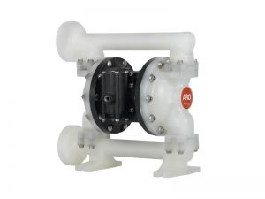 "Aro¨ PE10P-YPS-PTT-ADF Expert Series 1"" Diaphragm Pump With Polypropylene Centre Section & Body (Polypropylene Seats"