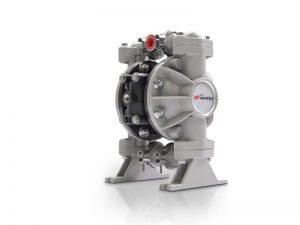 Aro¨ 666053-389 Diaphragm Pump With Polypropylene Centre Section & Body  (Polypropylene Seats