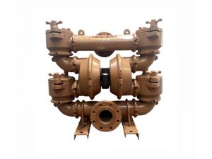 """Nomad 100-511768 Trans-Flo Gold 4"""" Diaphragm Pump With Polypropylene Centre Section and Ductile Body (Polyurethane Seats"""
