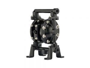 "Aro¨ PE05R-BAS-FTT-BDF Compact Series 1/2"" Diaphragm Pump With Conductive Polypropylene Centre Section and Aluminium Body (Aluminium Seats"