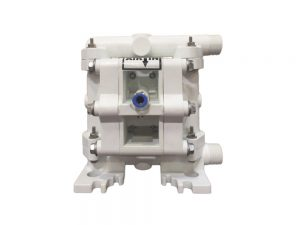 "Nomad 07-1161 PWR-FLO 1/4"" Diaphragm Pump With Polypropylene Centre Section & Body (Polypropylene Seats"