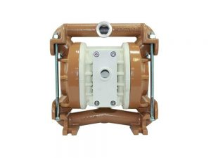 """Nomad 25-901761 PWR-FLO 1"""" Diaphragm Pump With Polypropylene Centre Section and Aluminium Body (Stainless Steel Seats"""