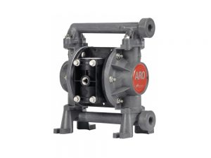 """Aro¨ PD03P-BES-SST Compact Series 3/8"""" Diaphragm Pump With Polypropylene Centre Section and Groundable Acetal (multiple port) Body (Stainless Steel Seats"""