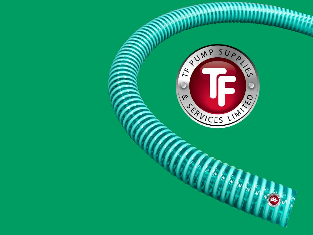 Light Duty Translucent Green Suction Hose
