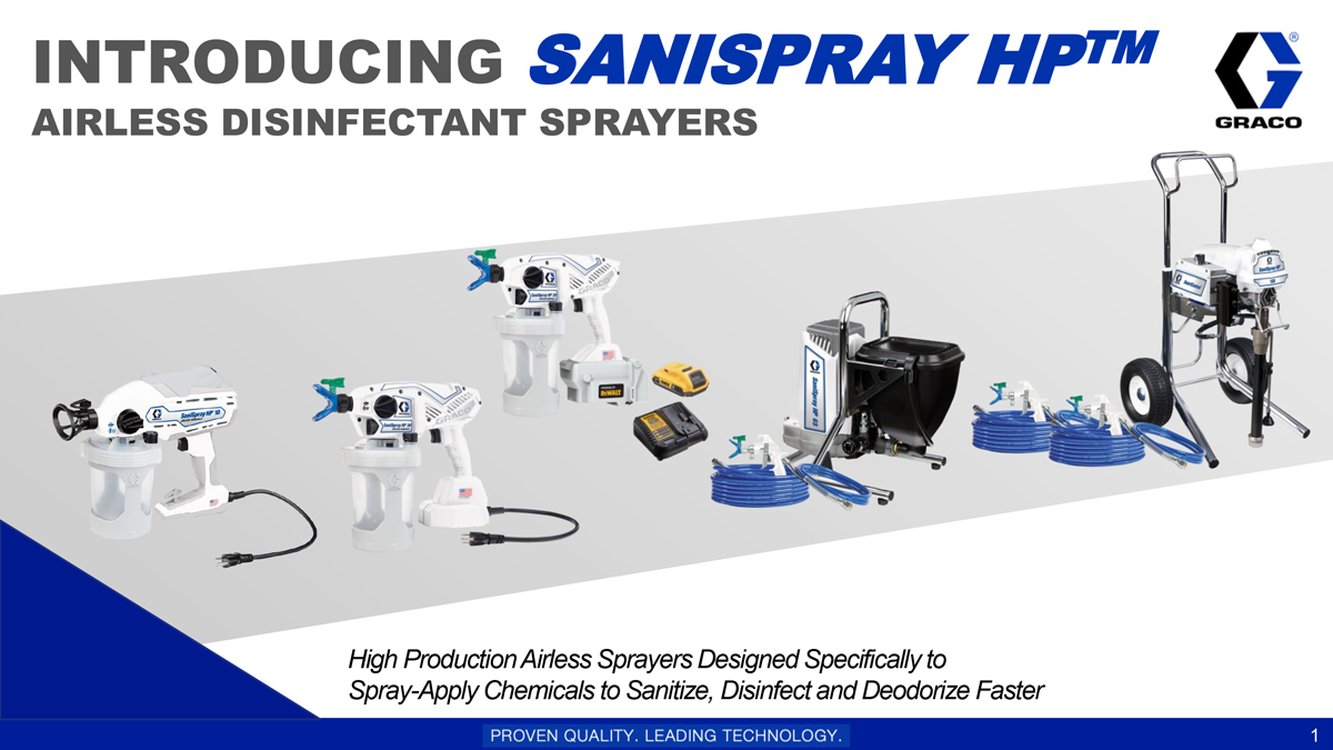 Graco SaniSpray HP
